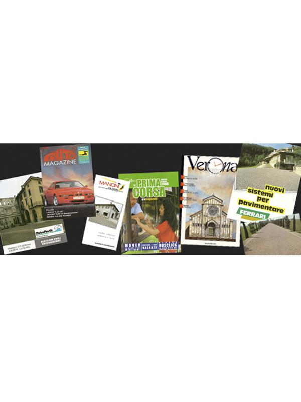 Pubblicazioni di settore e brochure